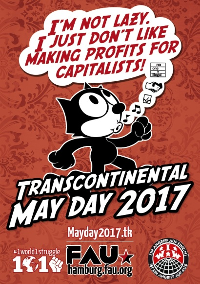 May Day Hamburg