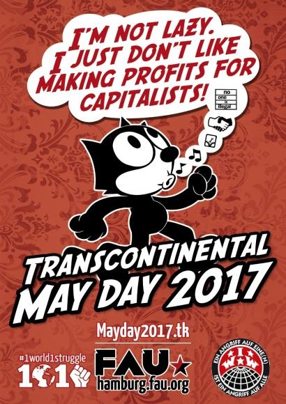 May Day Hamburg